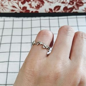 Vintage little finger ring pinky ring